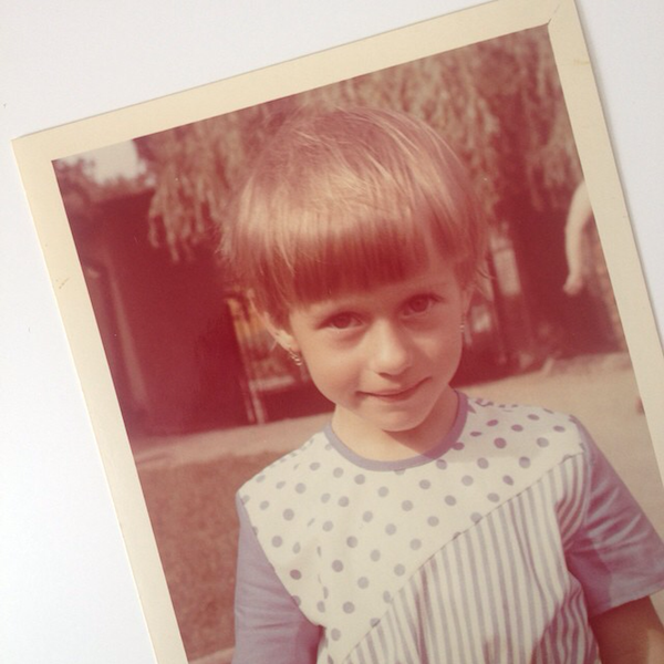 First school photo circa 1982