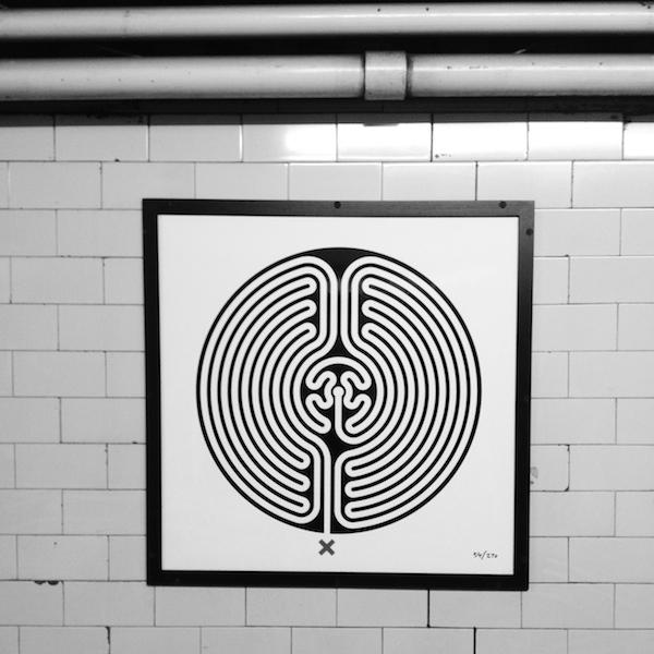 Warwick Avenue tube station, London