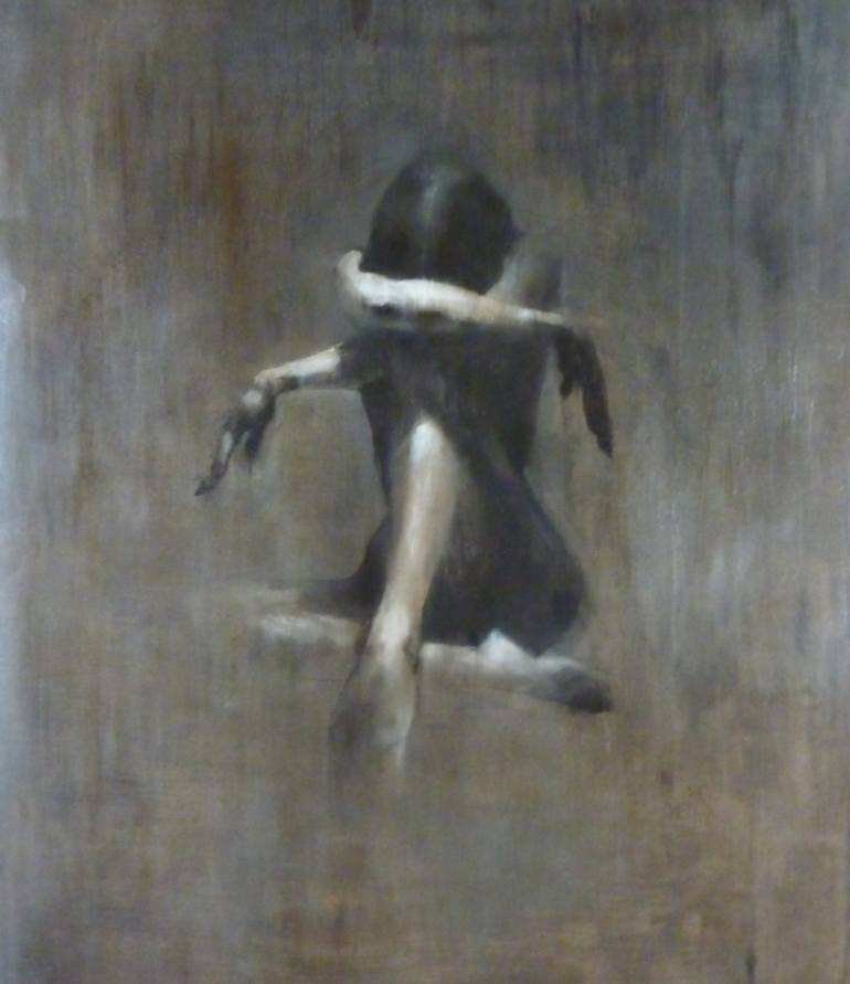 'Crying lightly' by Patrick Palmer via Saatchi Art
