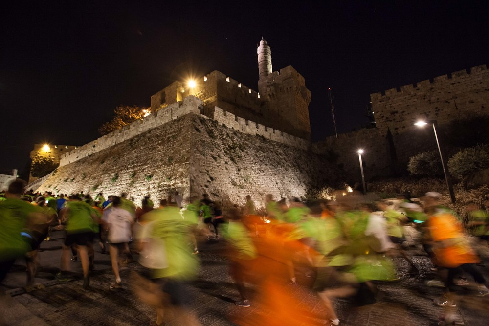 Jerusalem night run 2013