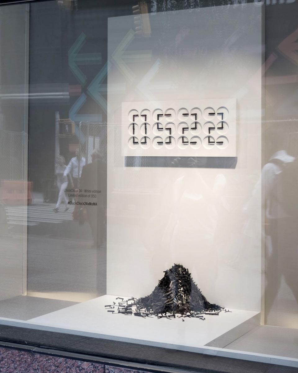 "Detail.""Fall / Winter"", MoMA store window, New York, 2017. Photo: Anna Heck"