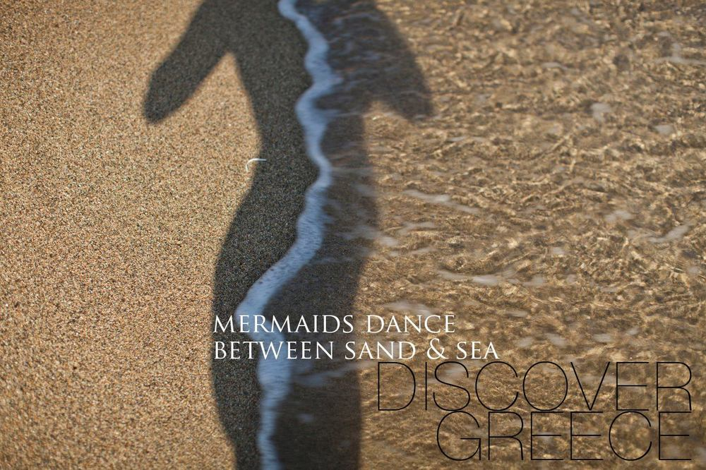 Mermaids Dance Between Sand & Sea