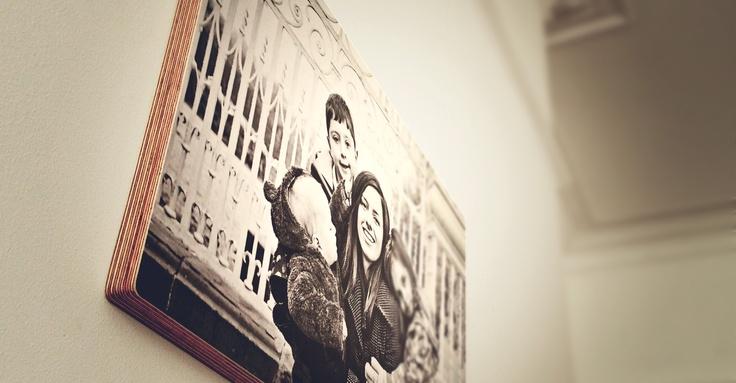 Ξύλινο πάνελ από το Fotorifico,