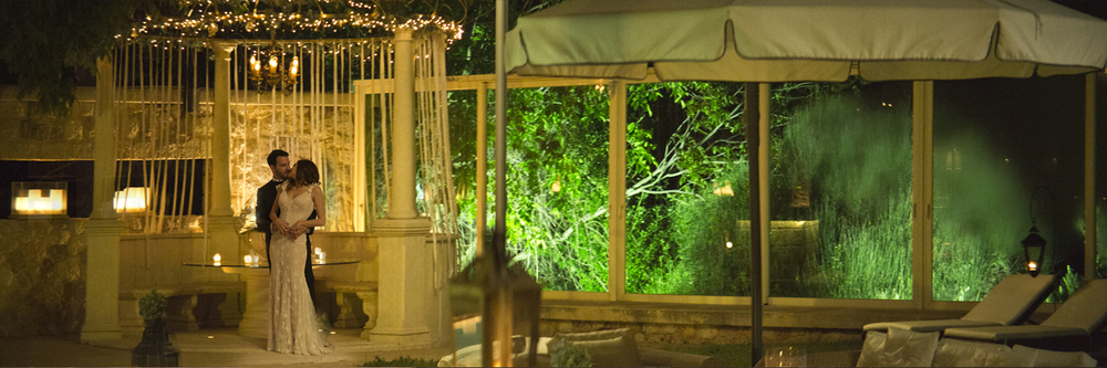 Σκηνή από το αναμορφικό γύρισμα στον γάμο του Τάσου & της Έλενας