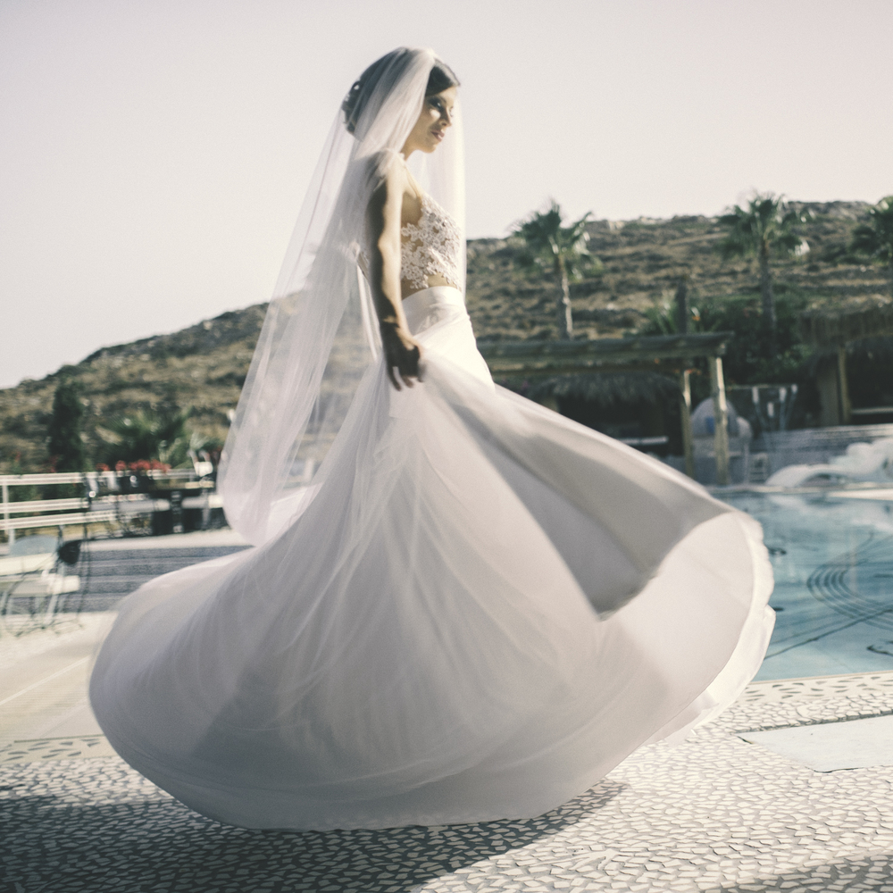 wedding photography in greek island ios