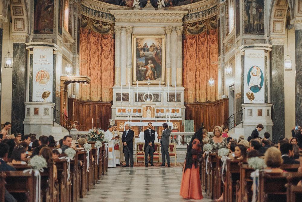 groom catholic wedding