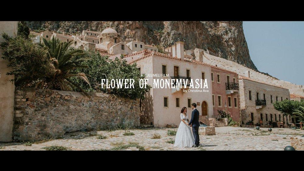 e9c8c05a4371 Ενα Ρομαντικό ρουστικ βίντεο γάμου στην Μονεμβασιά. H Καλλιρόη και ο  Γιάννης παντρευτηκαν στην Μονεμβασια