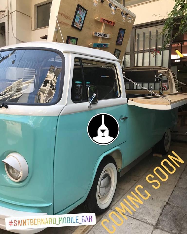 Ετοιμο το μπαρ Volkswagen του Saintbernard για να έρθει στο χώρο σας!