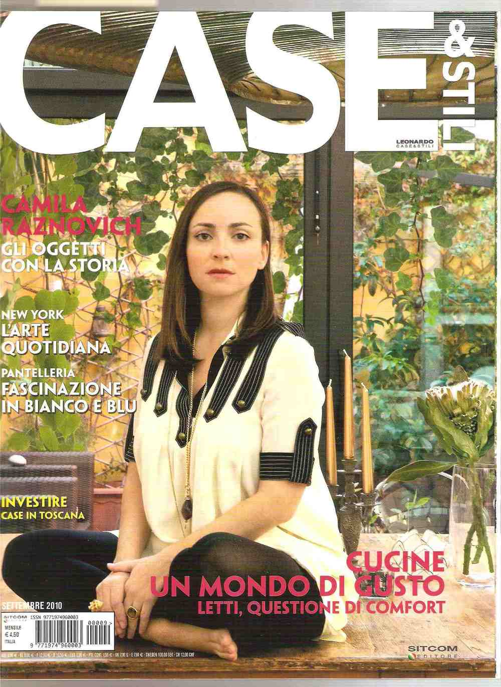Publication: CASE & STILI, 1 September 2012