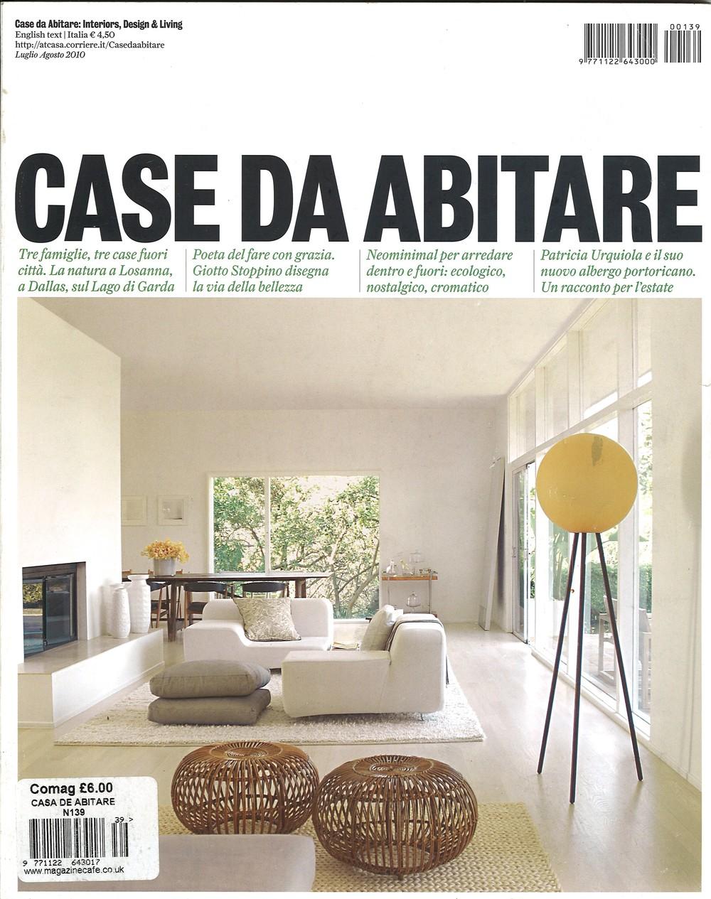 Publication: Casa Da Abitare, July/ August 2010