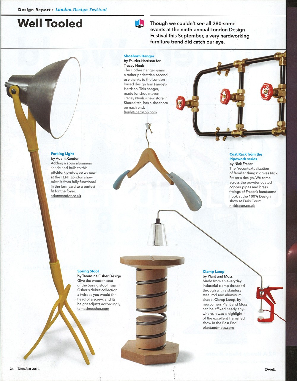 Publication: Dwell Magazine, Dec/Jan 2012