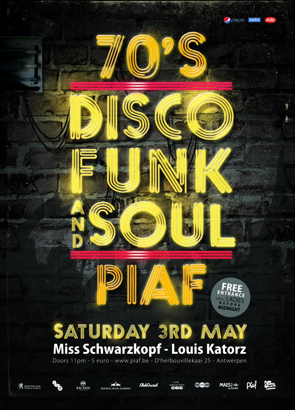Disco Funk and Soul
