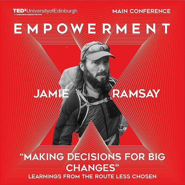 Jamie is an British solo endurance adventurer who has covered over 22,000km in 22 different countries over the last 3 years. His focus is not firsts or records but pushing personal boundaries and discovering new places. So are you honestly planning to miss this?! Get yourself a ticket at: http://www.tedxuniversityofedinburgh.co.uk/