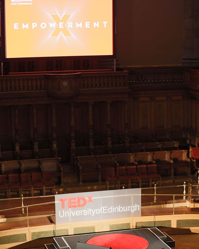 Dear Teddies, a massive thank you to everyone who made #Empowerment2018 a success, whether from in front of the stage, on it, or behind it! It was a pleasure sharing this experience with you, and what better place to do it than the magnificent McEwan Hall! See you all next year! Love from the TEDxUoE team xx