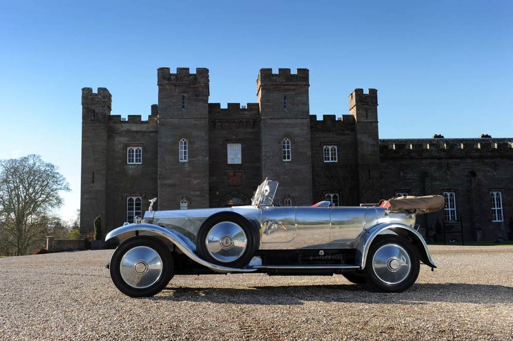 Bonars Vintage Car Hire Edinburgh