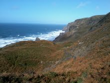BPM Coaching walking on the North Cornwall coastal path