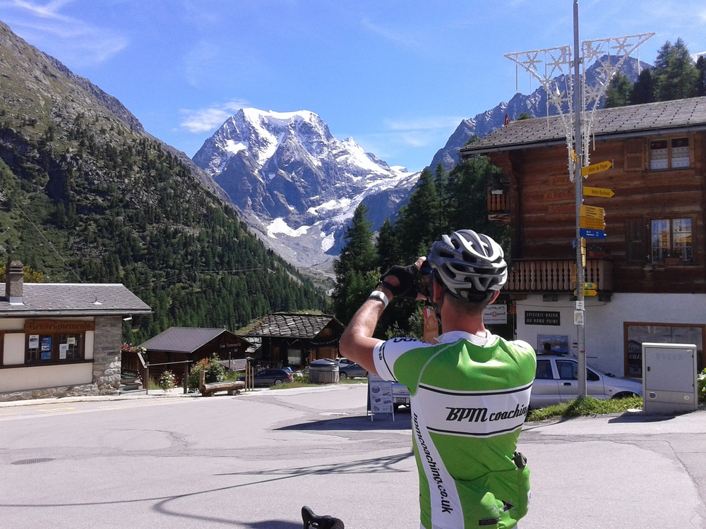 Swiss Alps cycling training camps & tours