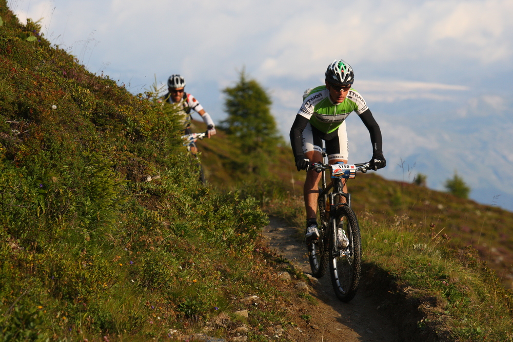 Swiss Alps mountain bike training camp