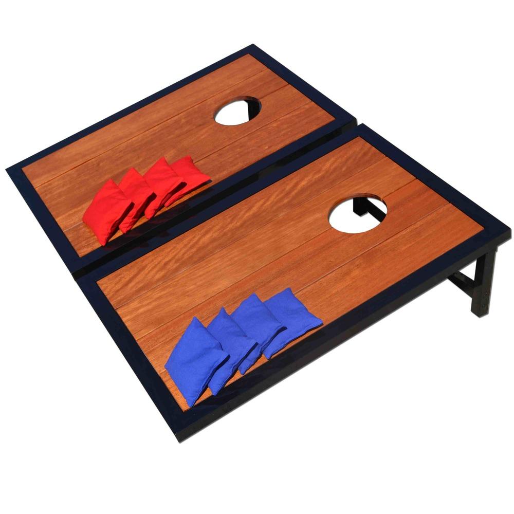 Premium Wood Cornhole Game