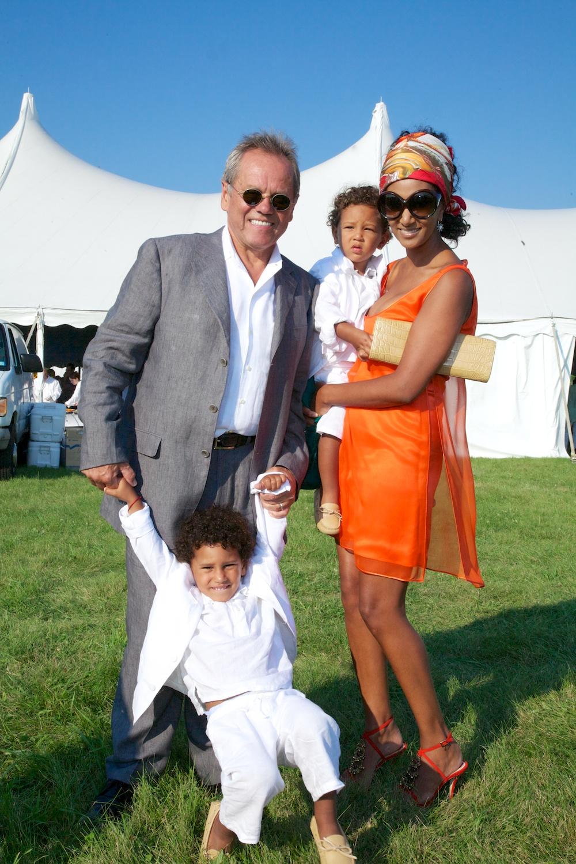 Wolfgang Puck & Family