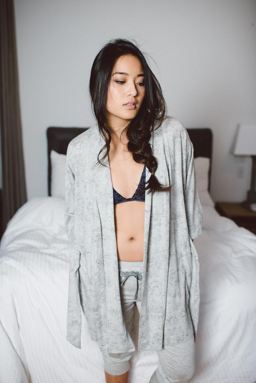 WINTOUR robe + SOLSTICE pant