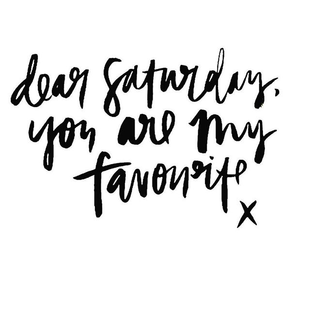 especially when paired with a long weekend...⠀ .⠀ .⠀ .⠀ #weekender #saturday #livethelittlethings #repost