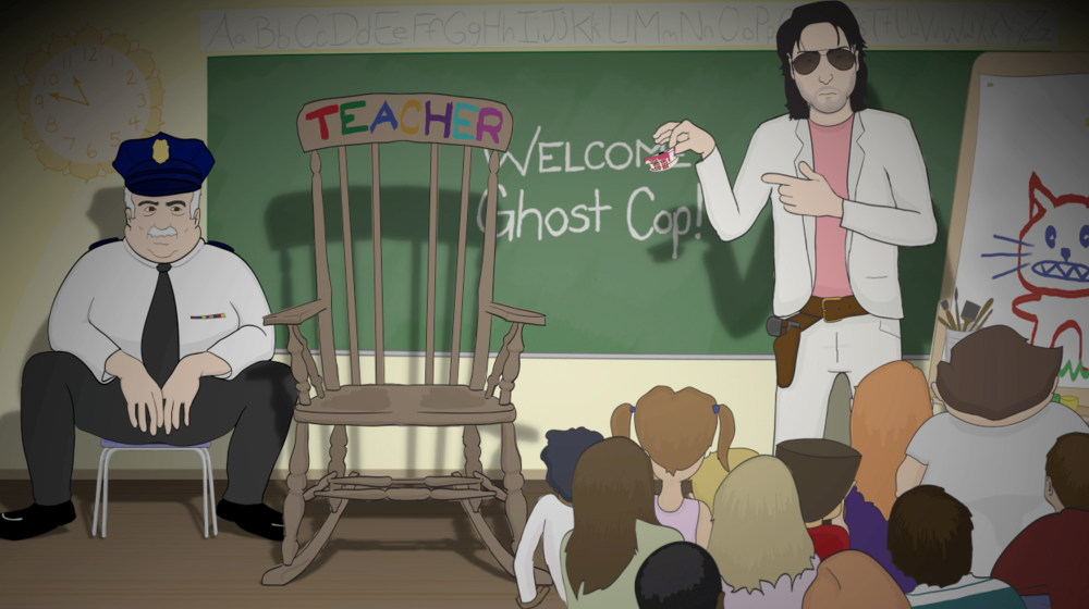 Ghost Cop  -  Producer, Director, Illustrator, Animator