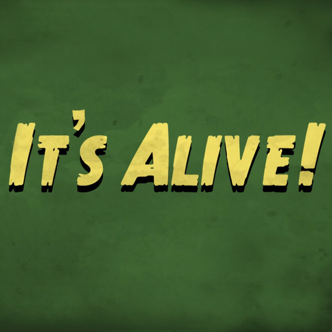It's Alive  -  Videographer, Editor, Animator, Designer, Illustrator