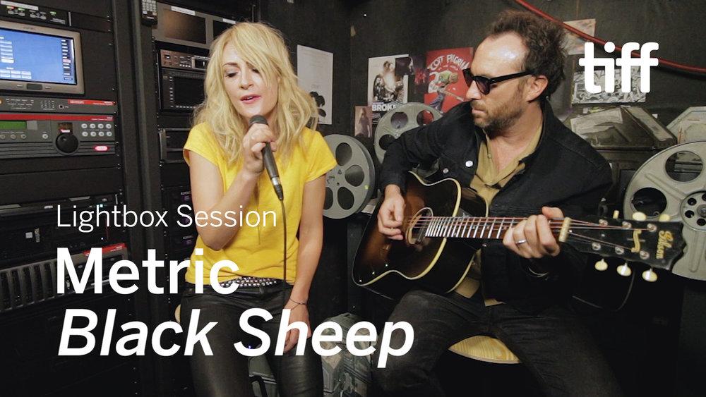 "Metric - ""Black Sheep"" (Edgar Wright's SCOTT PILGRIM VS. THE WORLD) | Lightbox Sessions | TIFF 2018"