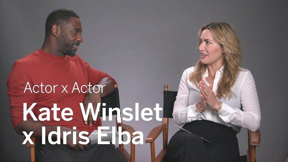 Kate Winslet x Idris Elba | Actor x Actor Conversation | TIFF 2017
