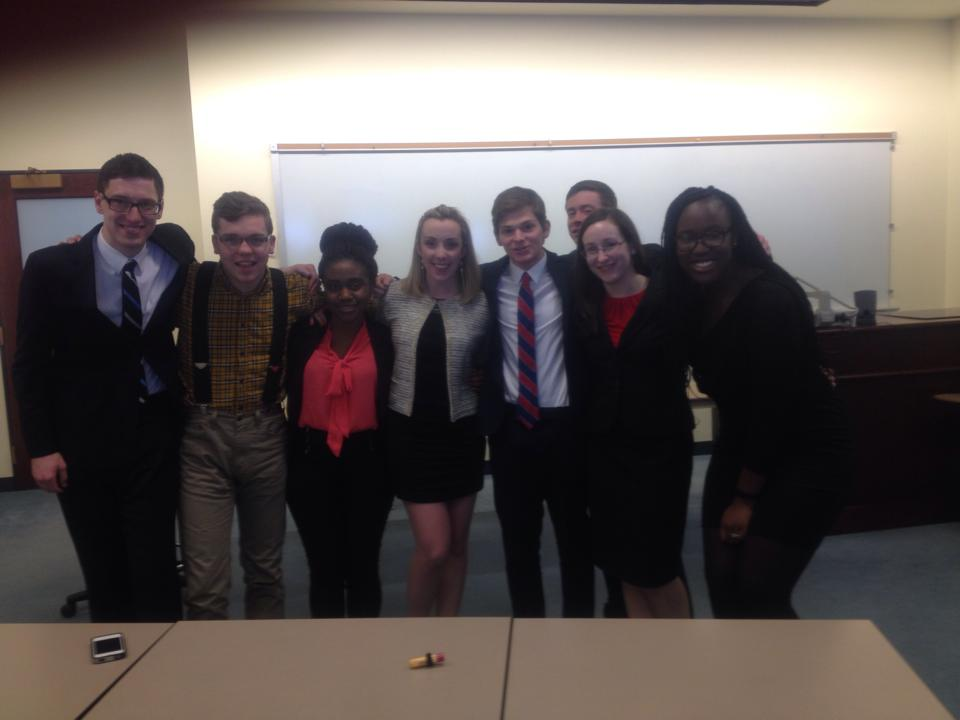 Jamaican Justice, one of MMT's two developmental teams, after going 6-2 and earning a bid to ORCS at the Washington, PA regional. (Pictured left to right: Ryan Rugani, Oliver Zoellner, Frances Djabatey, Katie O'Keeffe, Adam Korn, Zach Stevens, Christine Ostrosky and Chelsea Appiah)