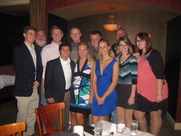 Miami B: Dan Nickels (2011), Dan Herron, Lane , Jake Levine (2010), Pavel Gurevich (2012), Michelle Markham (2011), Scott Lippert (2010), Jaime Glinka (2010), Krista Pikus (2012), Kristi Flynn (2012).
