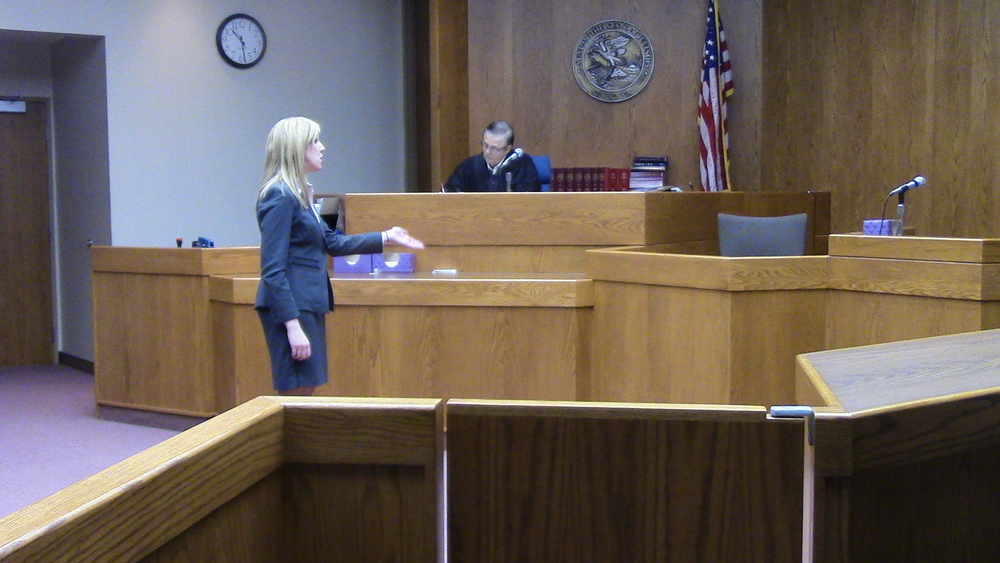 Katie O'Keeffe (aka Maria O'Keeffe) opens the defense case. Miami B is now 7-1 on it's defense side.