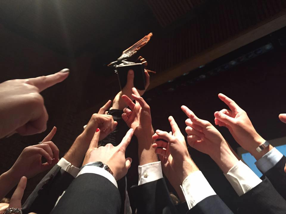Miami Mock Trial after winning  the First Grand Ole Tournament in Nashville, TN.