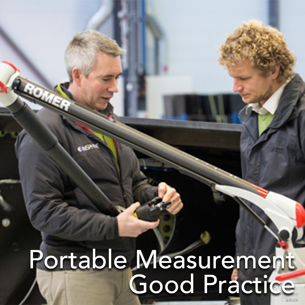 Portable Measurement Good Practice Measurement data from Laser Trackers and Portable Arms can be significantly influenced by the operator and how they approach the measurement task. This training helps implement good practice for portable metrology.  Contact Us For More Information