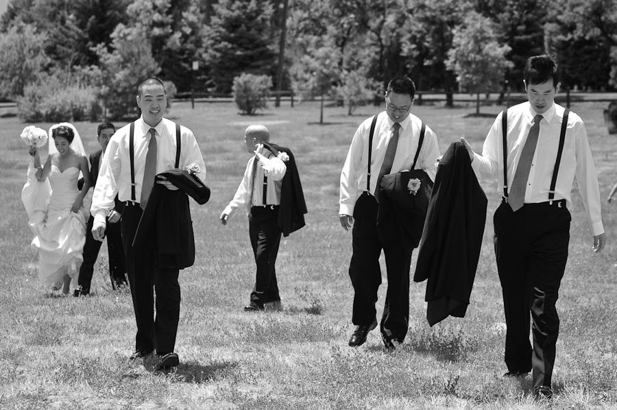 Denver wedding groomsmen