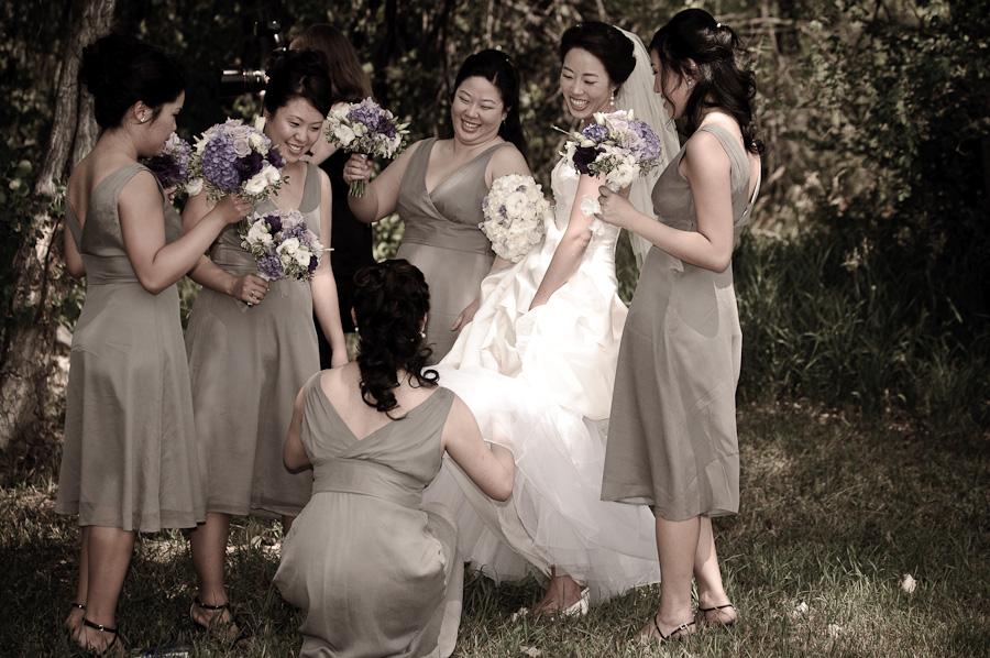 Denver wedding bridesmaids