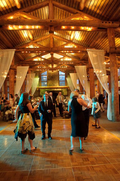 Timber Ridge on Keystone mountain during wedding reception