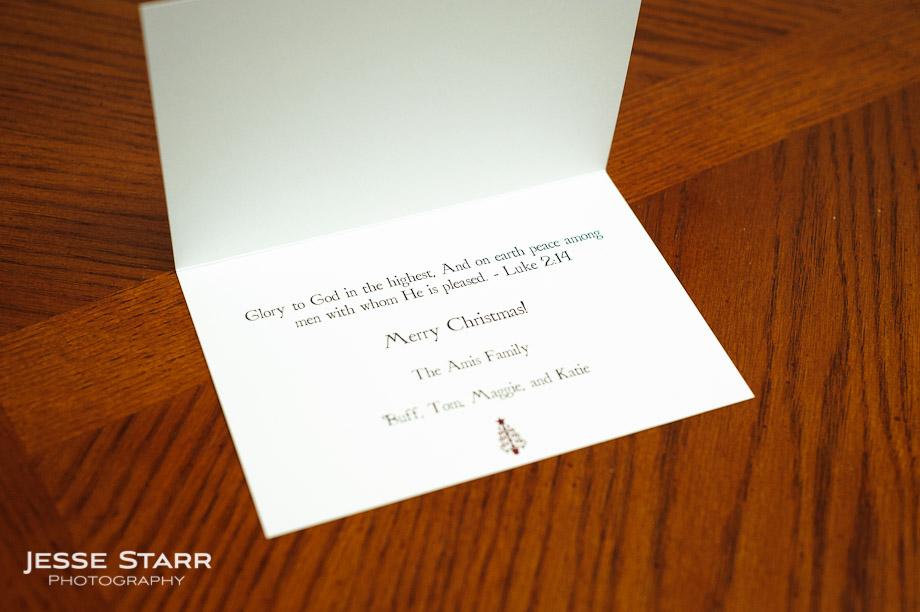Professional Christmas card design in Denver, Colorado