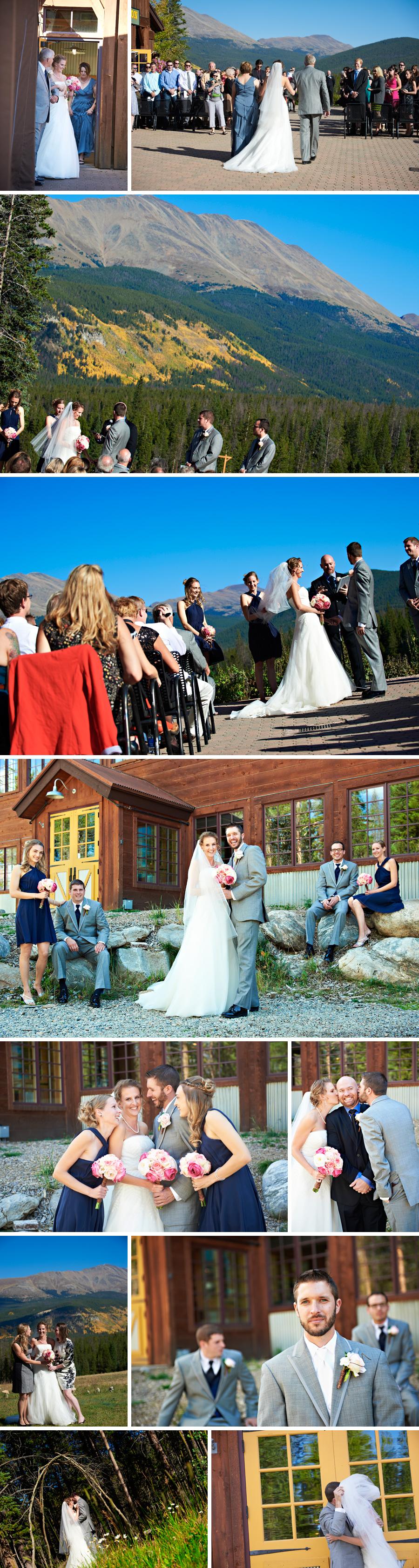 Wedding at Ten Mile Station in Breckenridge Colorado
