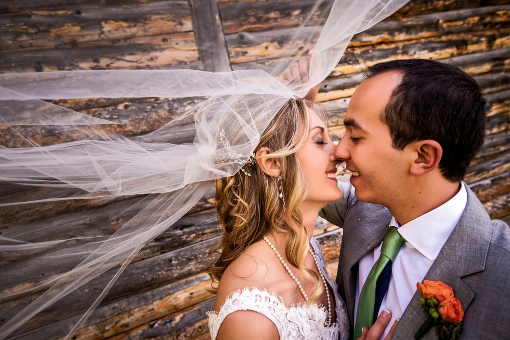 Ranch wedding at Perry-Mansfield in Steamboat Springs, Colorado