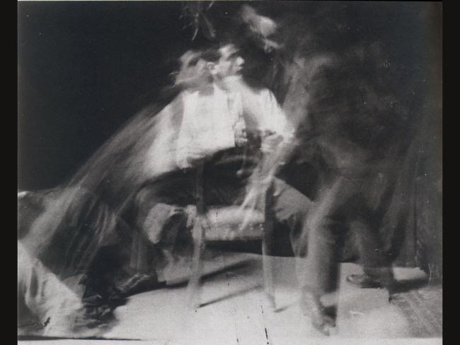 Anton Giulio Bragaglia. The slap   (Italian: Lo schiaffo)   , 1912. Gelatin silver print, 8×6 in