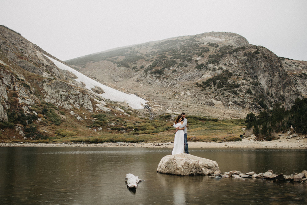 Saint Mary's Glacier, Colorado Wedding Photography
