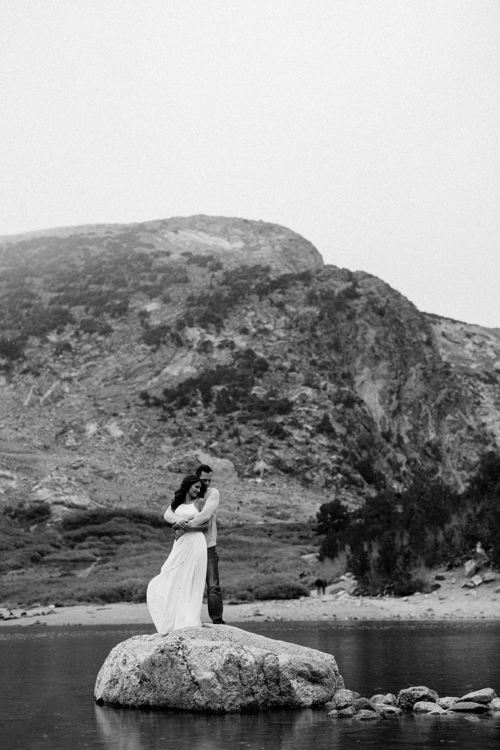 Elopement photographer in Saint Mary's Glacier, Colorado