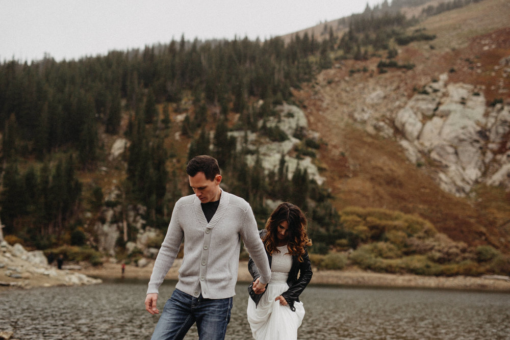Destination Wedding Photography, Saint Mary's Glacier, Colorado