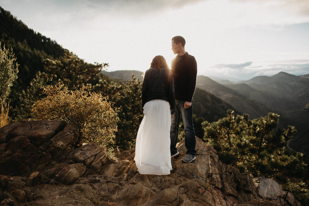 Destination Elopement Photographers at Lookout Mountain, Colorado
