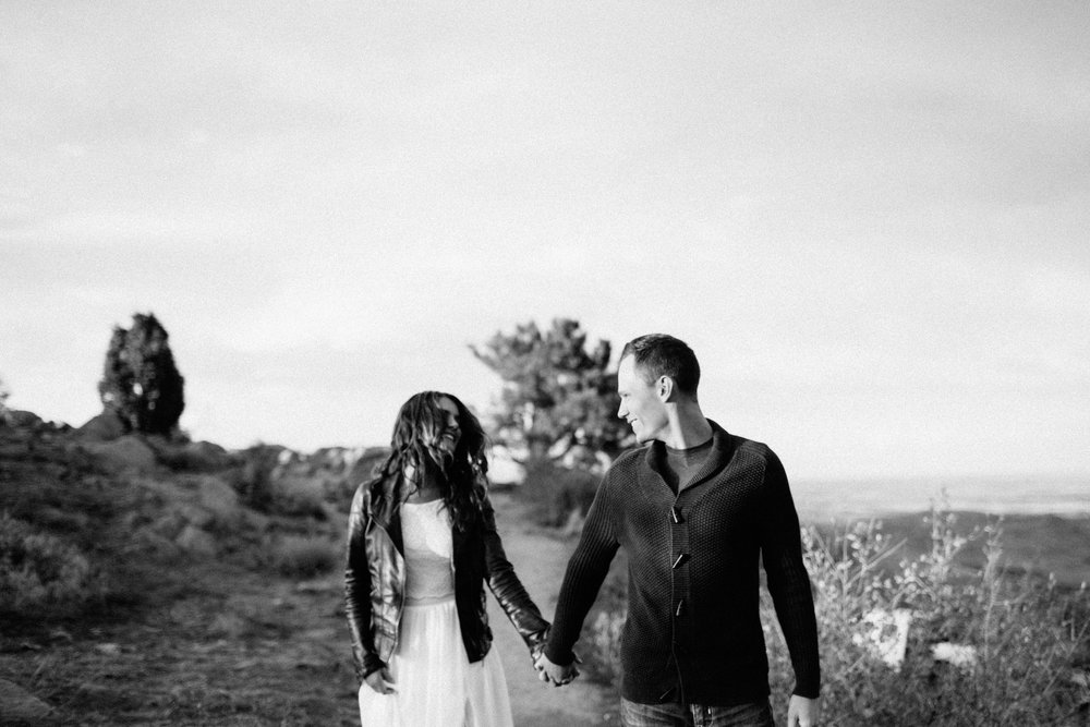 Editorial, Authentic Engagement Photography at Lookout Mountain, Colorado