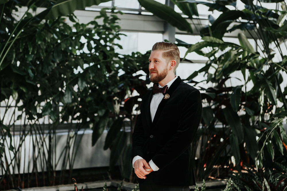 Garfield Park Conservatory chicago wedding photographers