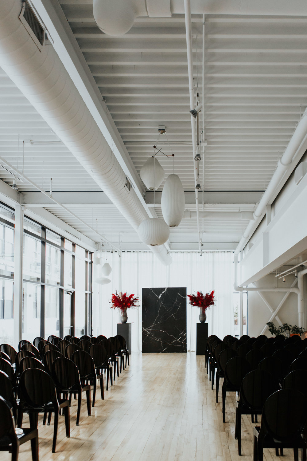 greenhouse loft chicago wedding photography