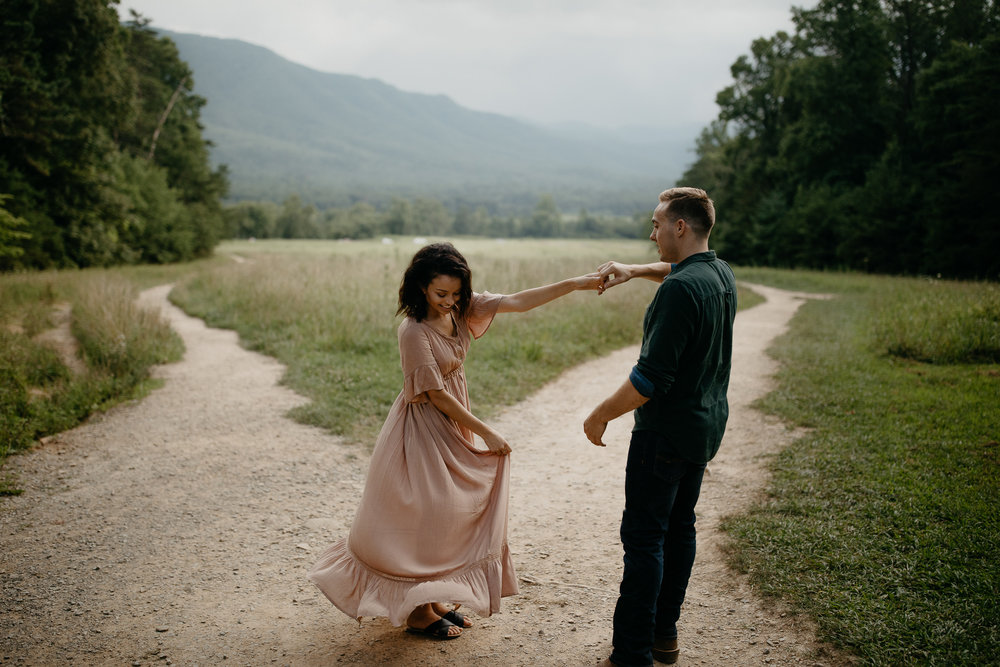 ariannamtorres and isaac engagement session at cades cove smoky mountains elopement-19.jpg